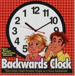 Crazy Backwards Clock!