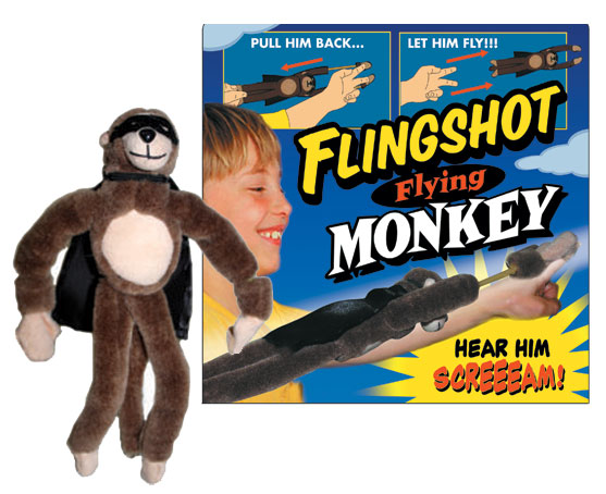 The Slingshot Flying Monkey!
