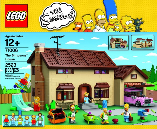 The Simpson's Lego House Review!